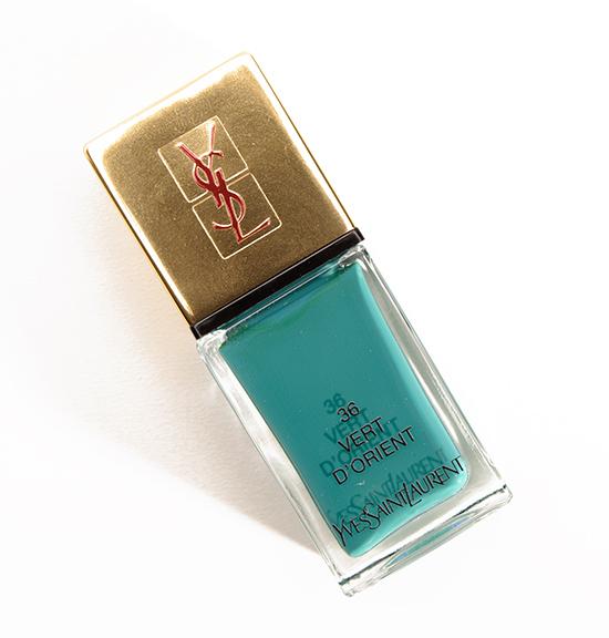 YSL Vert d'Orient (36) La Laque Couture Nail Lacquer
