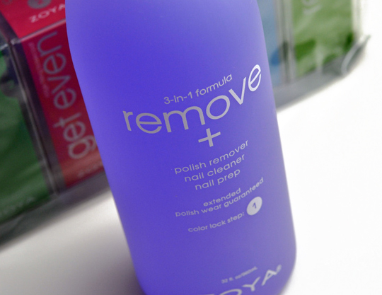 Zoya Remove Plus Nail Polish Remover • Nail Lacquer Review & Swatches