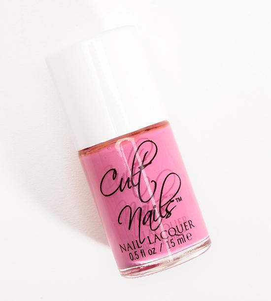 Cult Nails Kiss My Rose Bush Nail Lacquer