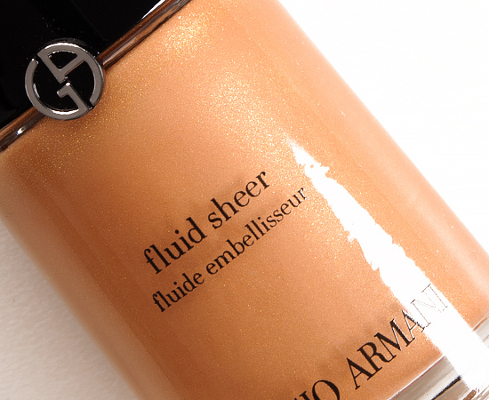 Giorgio Armani No. 10 Fluid Sheer