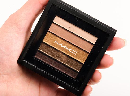 MAC Brownluxe Veluxe Pearlfusion Eyeshadow Palette