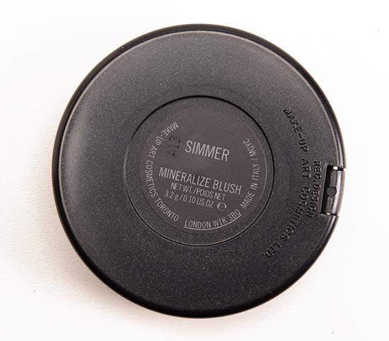 MAC Simmer Mineralize Blush
