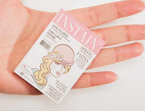 theBalm Argyle Instain Long-Wearing Powder Staining Blush
