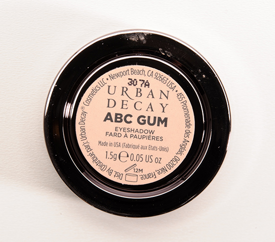 Urban Decay ABC Gum Eyeshadow