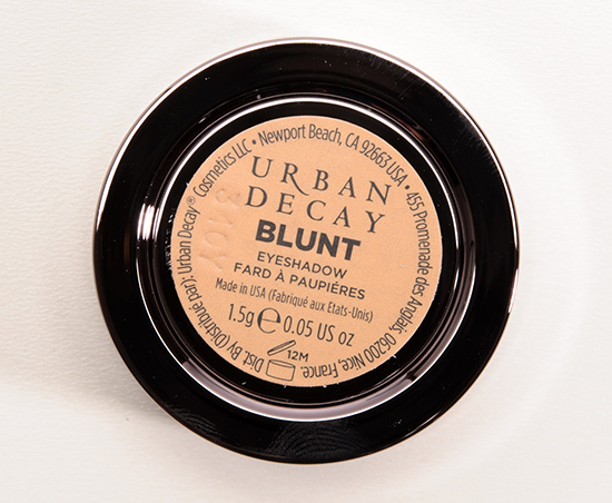 Urban Decay Blunt Eyeshadow