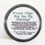 Fyrinnae Are You My Mummy? Arcane Magic Eyeshadow