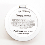 Fyrinnae Sleepy Hollow Pressed Eyeshadow
