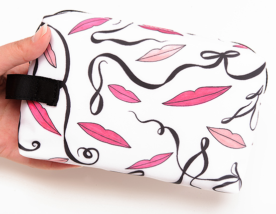 MAC Illustrated Pink Lip Bag