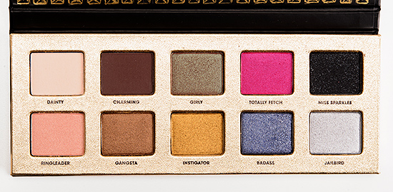 Too Faced Pretty Rebel Eyeshadow Palette