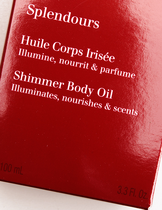 Clarins Splendours Shimmer Body Oil