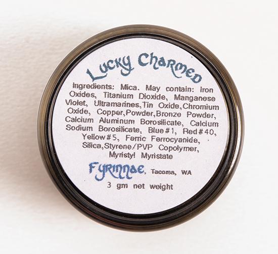 Fyrinnae Lucky Charmed Eyeshadow