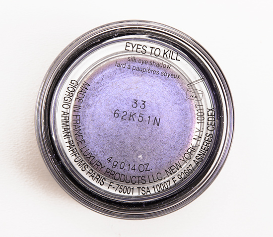 Giorgio Armani Scarab Violetta (33) Eyes to Kill Intense Eyeshadow