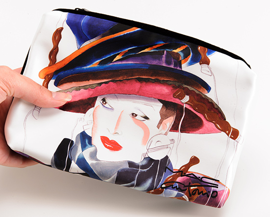 MAC x Antonio Lopez Makeup Bag