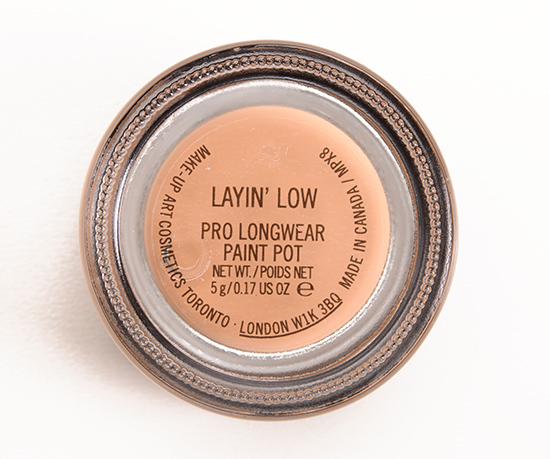 MAC Layin' Low Pro Longwear Paint Pot