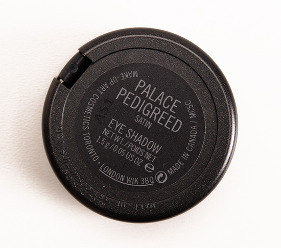 MAC Palace Pedigreed Eyeshadow
