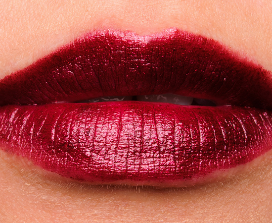 OCC Black Metal Dahlia Metallic Lip Tar