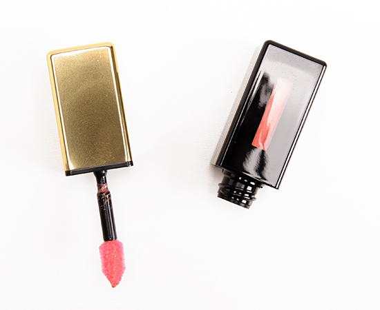 YSL Corail Hold Up (105) Rebel Nudes Rouge Pur Couture Glossy Stain