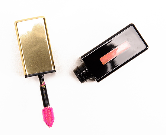 YSL Fuchsia Fugitive (109) Rebel Nudes Rouge Pur Couture Glossy Stain