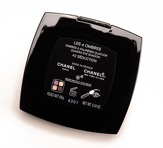 Chanel Seduction (42) Les 4 Ombres Eyeshadow Quad