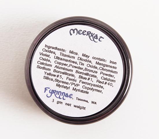Fyrinnae Meerkat Eyeshadow