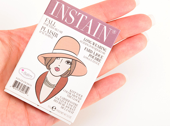 theBalm Pinstripe Instain Long-Wearing Staining Powder Blush