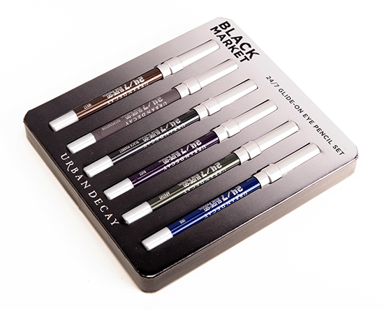 Urban Decay Black Market 24-7 Glide-On Eye Pencil Set