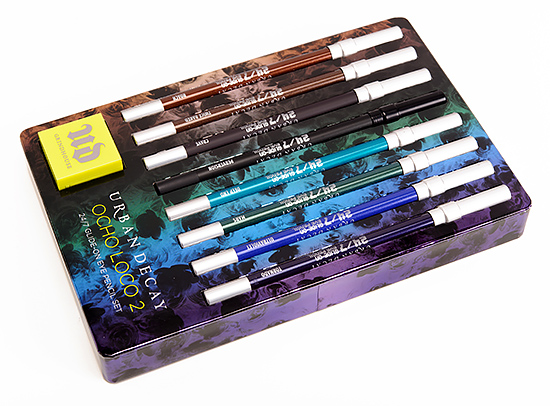 Urban Decay Ocho Loco 2 24-7 Glide-On Eye Pencil Set