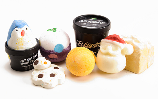 Lush Holiday 2013