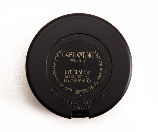 MAC Captivating Mineralize Eyeshadow Duo