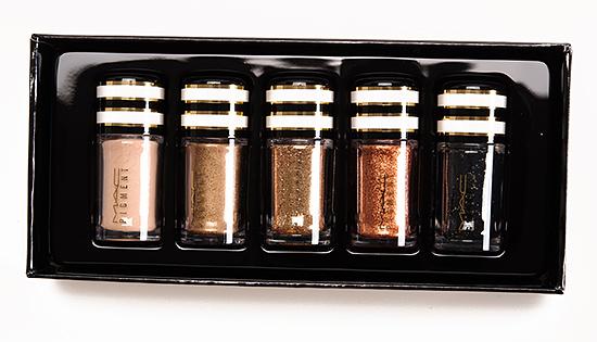 MAC Nocturnals/Black & Gold Set Pigment & Glitter Set