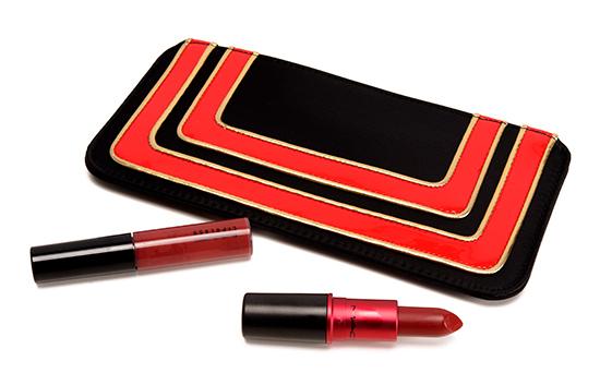 MAC Stroke of Midnight/Viva Glamorous Lip Bag