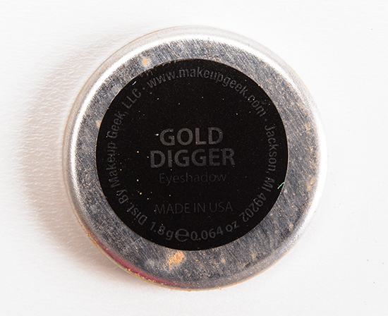 Makeup Geek Gold Digger Eyeshadow