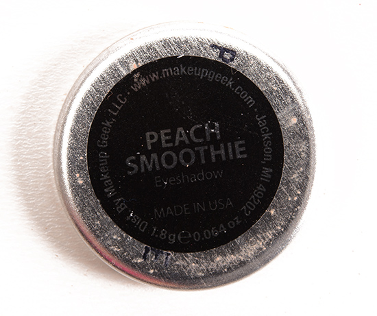 Makeup Geek Peach Smoothie Eyeshadow