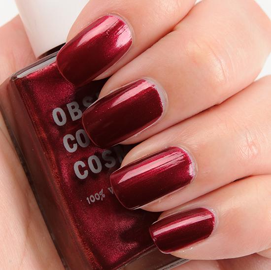 OCC Black Metal Dahlia Nail Lacquer