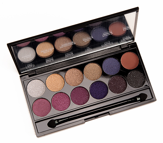 sleek makeup vintage romance i divine palette review swatches