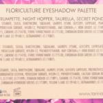 Tarina Tarantino Floriculture 8-Pan Eyeshadow Palette