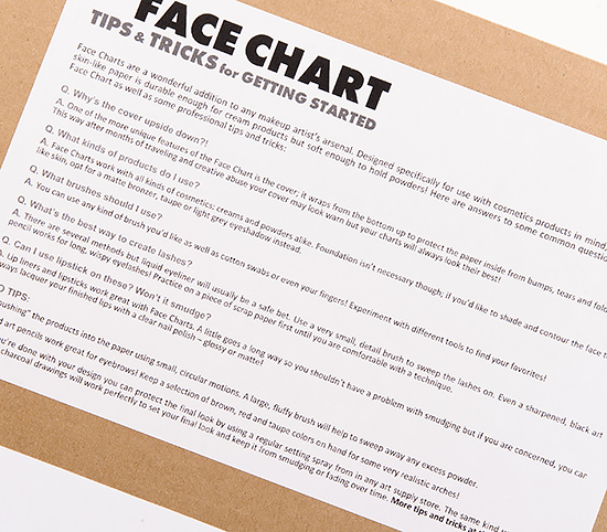 The Face Chart by Dustin Hunter