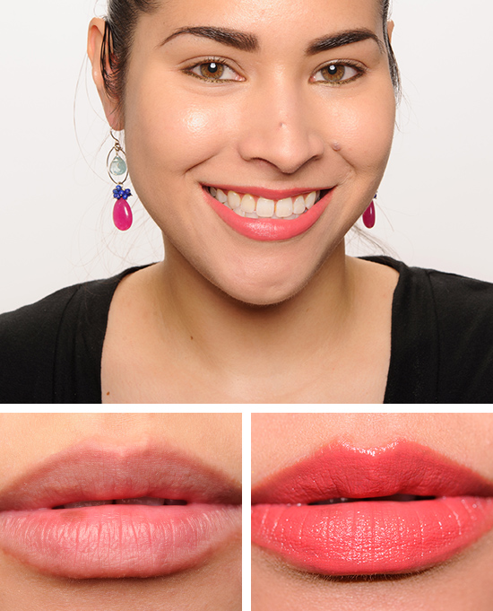 Too Faced Coral Fire La Creme Lipstick