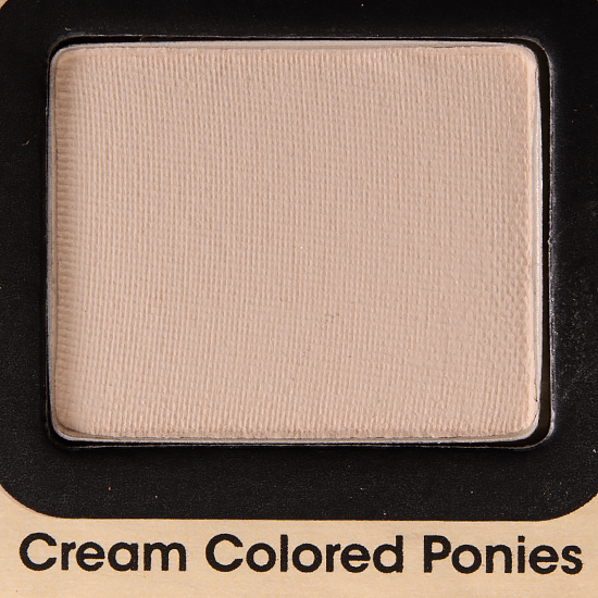 Too Faced Cream Colored Ponies Eyeshadow