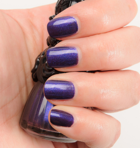 Anna Sui x Minnie Mouse Midnight Purple (200) Nail Color