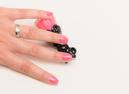 Anna Sui x Minnie Mouse Neon Pink (300) Nail Color