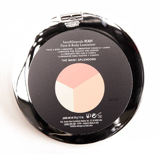 bareMinerals The Many Splendors Face & Body Luminizer