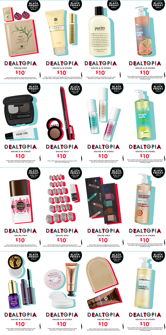 Sephora Black Friday 2013 Deals