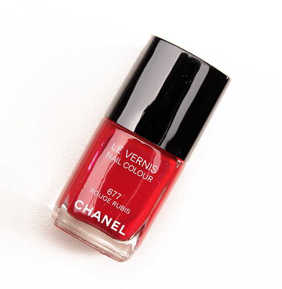Chanel Rouge Rubis Le Vernis Nail Lacquer Review, Photos, Swatches