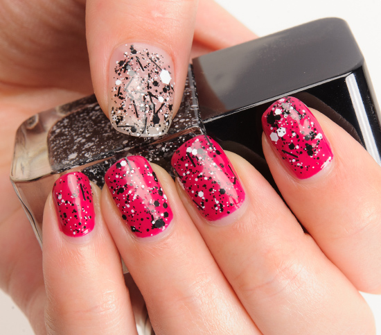 Formula X Chaotic over A+ Nail Lacquers
