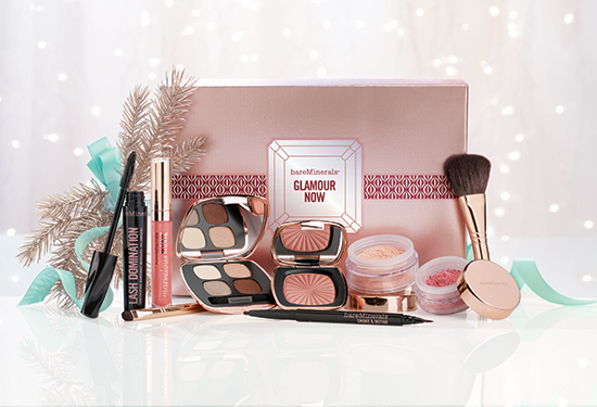 bareMinerals Glamour Now Holiday Collection