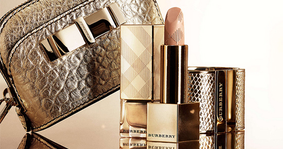 Burberry Festive Gold Collection for Holiday 2013