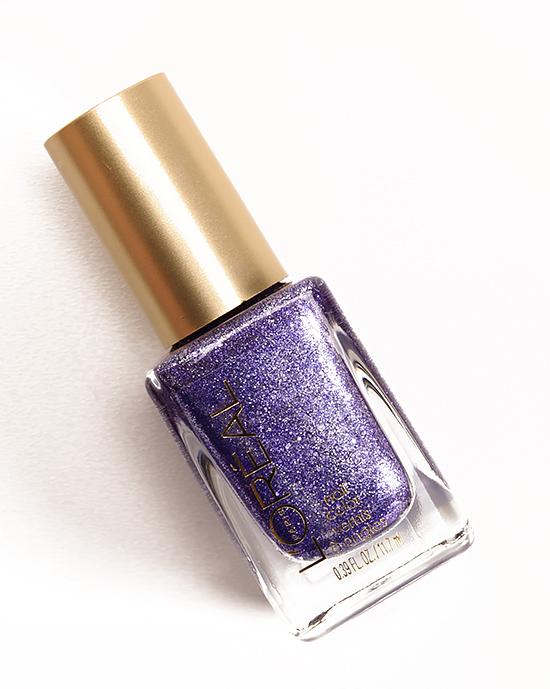 L\'Oreal Gold Dust Colour Riche Nail Lacquer Reviews, Photos, Swatches