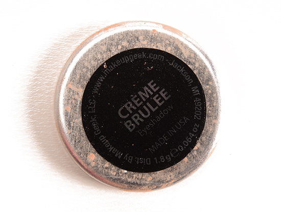 Makeup Geek Creme Brulee Eyeshadow
