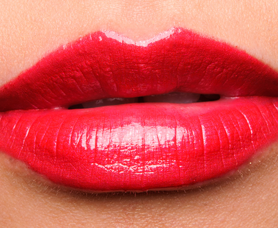Sephora Red Glow Metallic Glow Lustrous Lip Shine